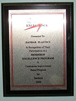 2004 Mindshop Excellence award