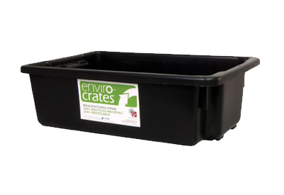 Plastic Crate 32L   Stack and Nest Enviro Crate