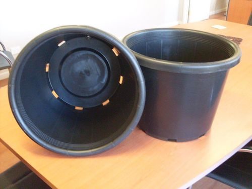 Plastic Pots 400mm Slimline   Pack of 5