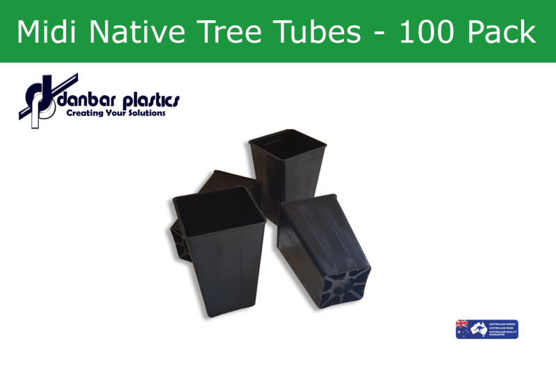 Plastic Pots   Middy Native Tree Tubes   Pack of 100