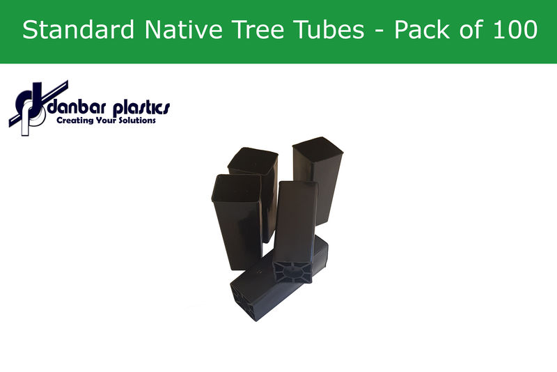 Plastic Pots   Standard Native Tree Tubes   Pack of 100