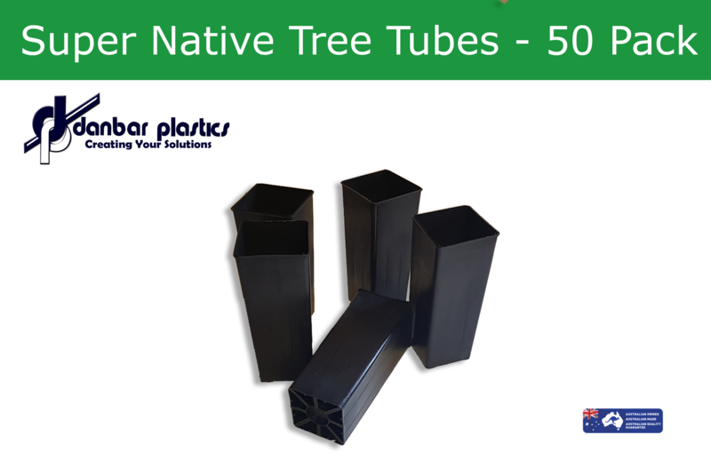 Plastic Pots   Super Native Tree Tubes   Pack of 50