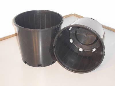 Round Pots - Slim Line - 200mm