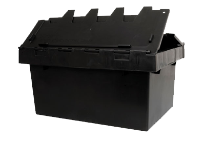Smart security crate or tote bin