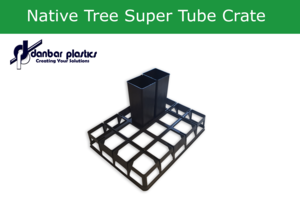 Native Tree Super Tube Crate   20 Place   Pack of 10