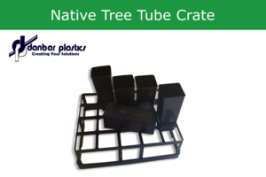 Native Tree Tube Crate - 20 Place - Pack of 10