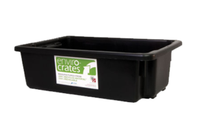 Plastic Crate 32L - Stack and Nest Enviro Crate