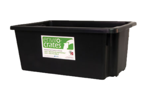 Plastic Crate 52L - Stack and Nest Enviro Crate