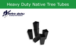 Plastic Pots - Heavy Duty Native Tree Tubes - Pack of 100