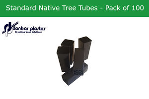 Plastic Pots - Standard Native Tree Tubes - Pack of 100