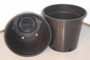 Plastic Pots 250mm Standard - Pack of 10