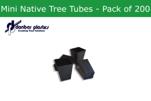 Plastic Pots - Mini Native Tree Tubes - Pack of 200